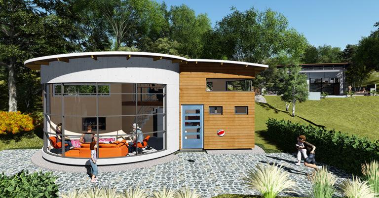 Arkitektritat attefallshus